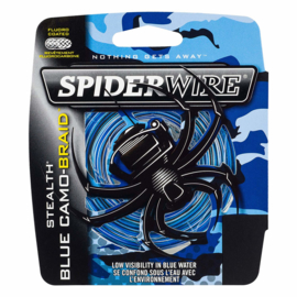 Spiderwire  Blue Camo  270 meter.