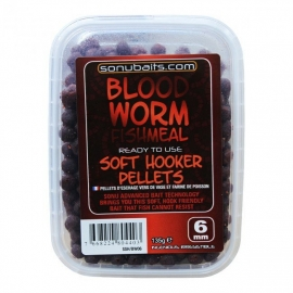 Sonubaits Bloodworm Fishmeal Soft Hooker Pellets