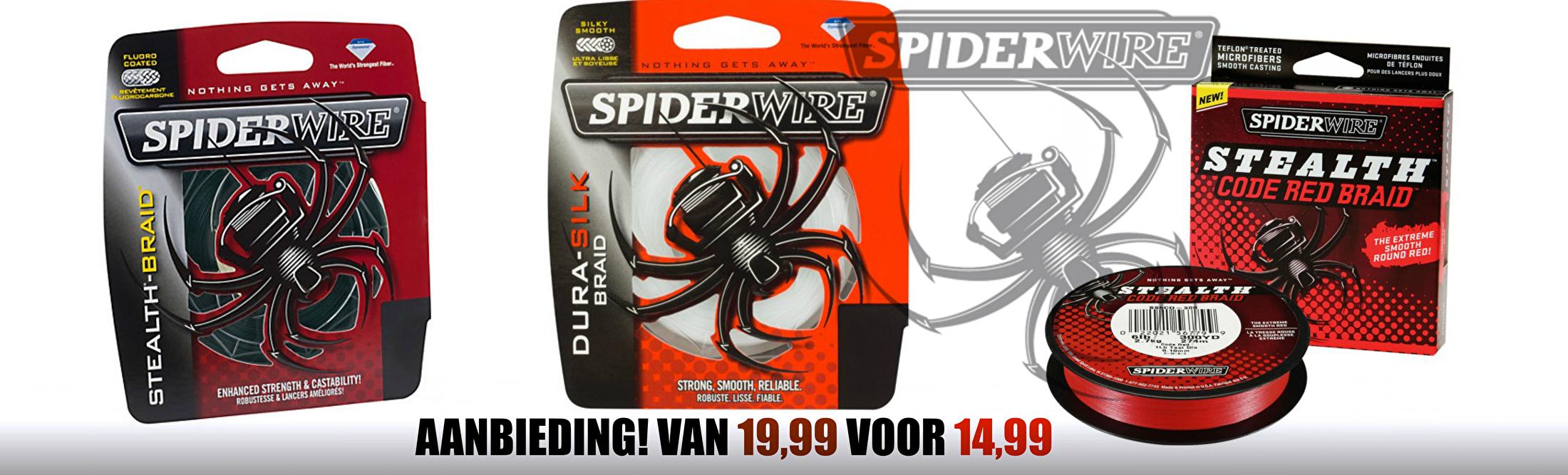 Spiderwire actie