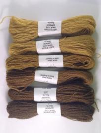 Brown olive 311-316