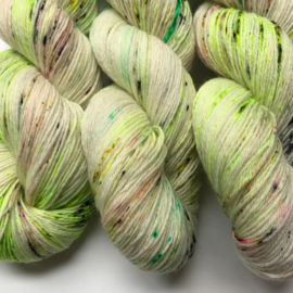 Sock yarn pesto