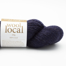 Wool Local Bingley Navy 808