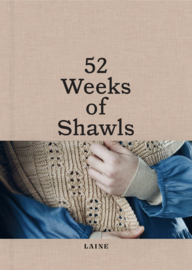 Pre-order: 52 weeks of shawls (sales date 30th of april