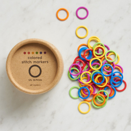 Cocoknits Colored Ring Stitchmarkers