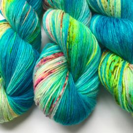 Sock yarn bubble