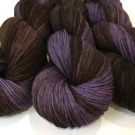 Sock yarn Raven