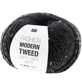 Modern tweed 010 schwarz