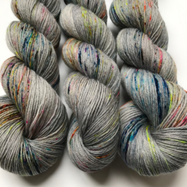Sock yarn juniper