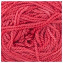 Merino sock yarn lipstick