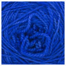 Merino sock yarn cobalt
