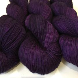 Sock yarn Purple Raign