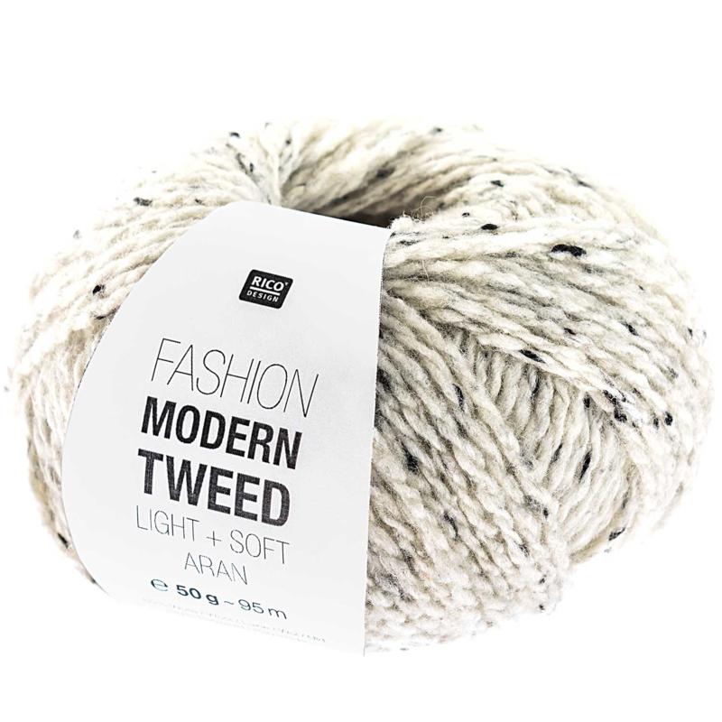Modern tweed 001 creme