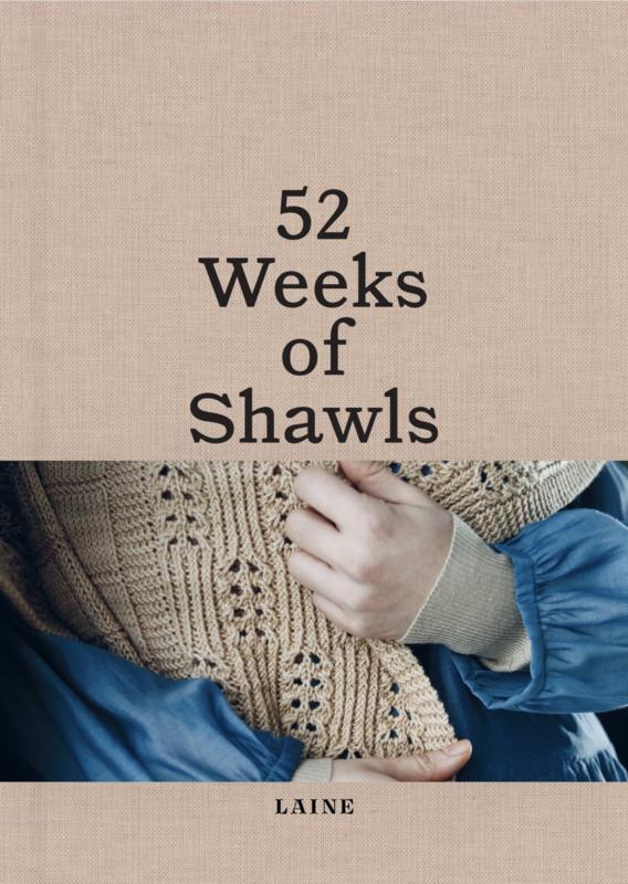 Pre-order: 52 weeks of shawls (sales date 30th of april
