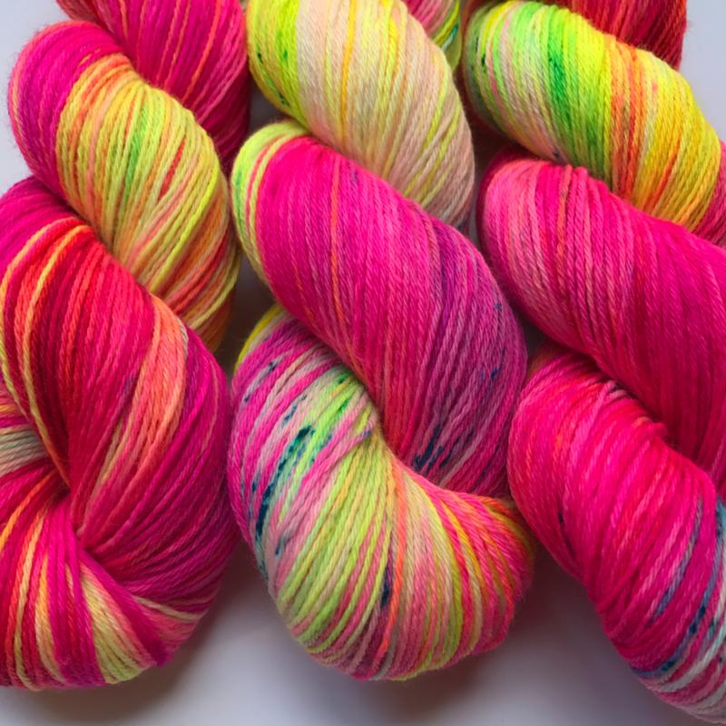 Sock yarn hoolahoop
