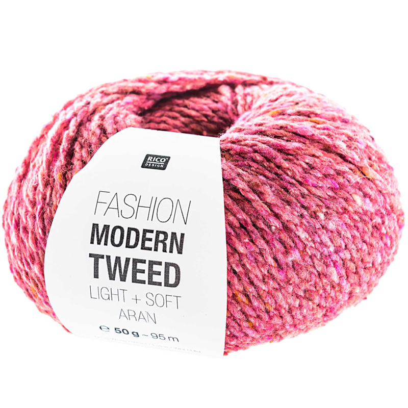 Modern tweed 006 fuchsia