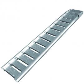 Oprijplaat aluminium 210x35cm 500kg per stuk
