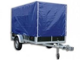 Verhuur: aanhangwagen met huif 257x132 per week