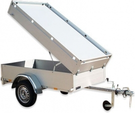 Verhuur bagagewagen Anssems per week 201x101x48
