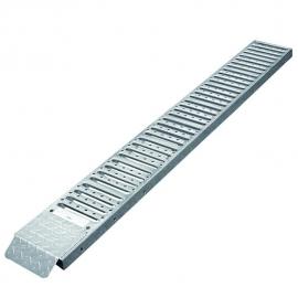 Oprijplaat staal 180x26cm 225kg per stuk