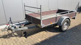 Verhuur geremde aanhangwagen met eigen kenteken
