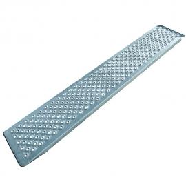 Oprijplaat aluminium 183x25cm 500kg per stuk