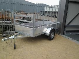 Aluminium aanhangwagen