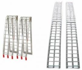 Oprijplaat aluminium vouwbaar