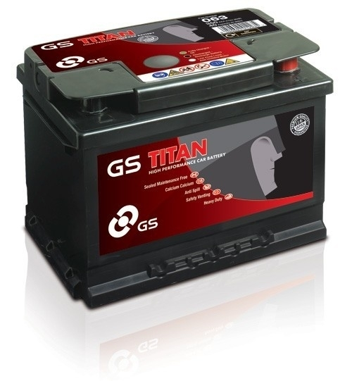 ACCU GS TITAN 55AH