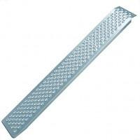 Oprijplaat aluminium 200x21cm 200kg per stuk
