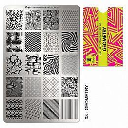 Moyra | Stampingplate #8 Geometry