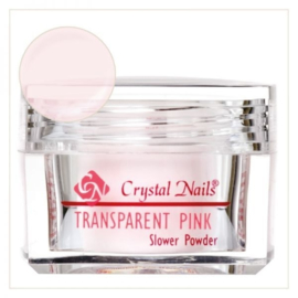 [Crystal Nails] Slower powder transparent pink 17 gram
