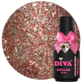 Diva | Glitter Copper 15ml