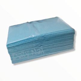 DN   Table Towels 25 stuks - BLAUW - 3 laags
