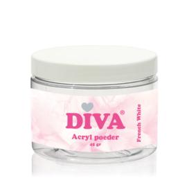 Diva | Acryl Poeder French White 45 gram