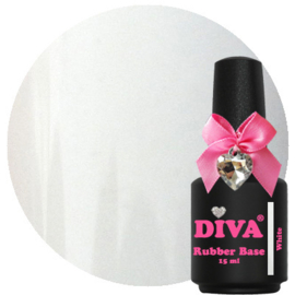Diva | Rubber Base White 15ml