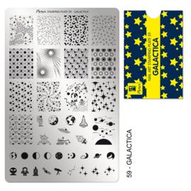 Moyra | Stampingplate #59 Galactica