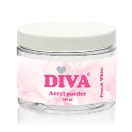 Diva | Acryl Poeder French White 250 gram
