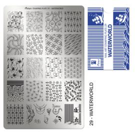 Moyra | Stampingplate #29 Waterworld