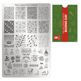 Moyra | Stampingplate 85 - Boxing day