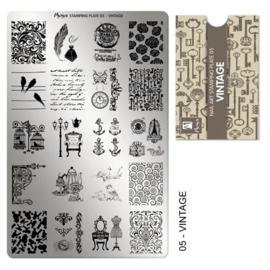 Moyra | Stampingplate #5 Vintage