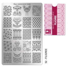 Moyra | Stampingplate #52 Filigree