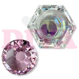 Diva | Crystal Diamond Dappendish Pink
