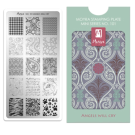 Moyra | Mini Stampingplate #101 Angels Will Cry