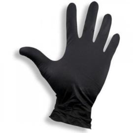 Handschoen Soft Nitril 100 Stuks (zwart) S