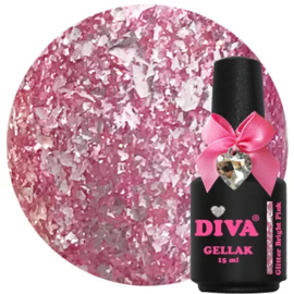 Diva | Glitter Bright Pink 15ml