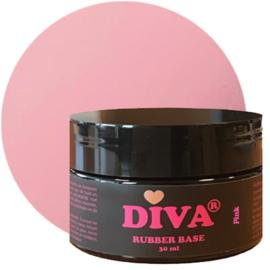 Diva | Rubber base Pink POT 30ml