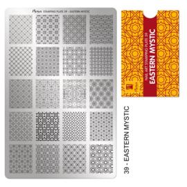 Moyra | Stampingplate #39 Eastern Mystic