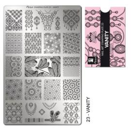 Moyra | Stampingplate #23 Vanity