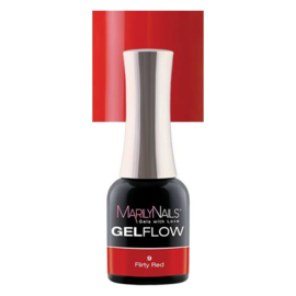 MN | Gelflow Flirty Red #9 - 4ml