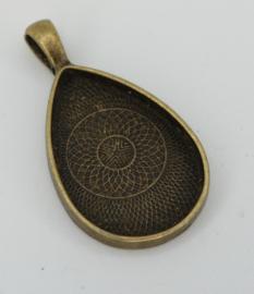 Medaillon - Druppelvorm